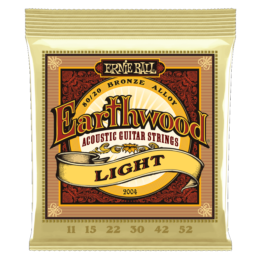 Ernie Ball Earthwood Acoustic 80/20 Bronze Strings