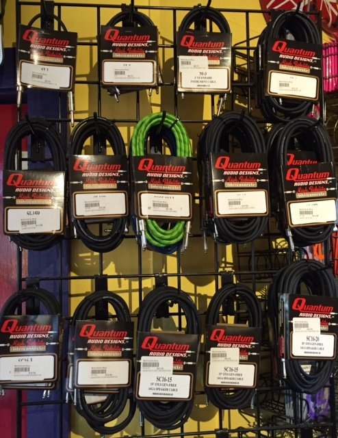 Quantum Audio Designs Cloth Covered Oxygen Free Cables