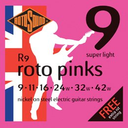 Rotosound Nickel Electric Guitar Strings