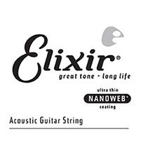 Elixir Nano Web Extra Long Scale Bass Single