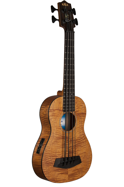Kala Ubass Exotic Mahogany Acoustic Electric Bass
