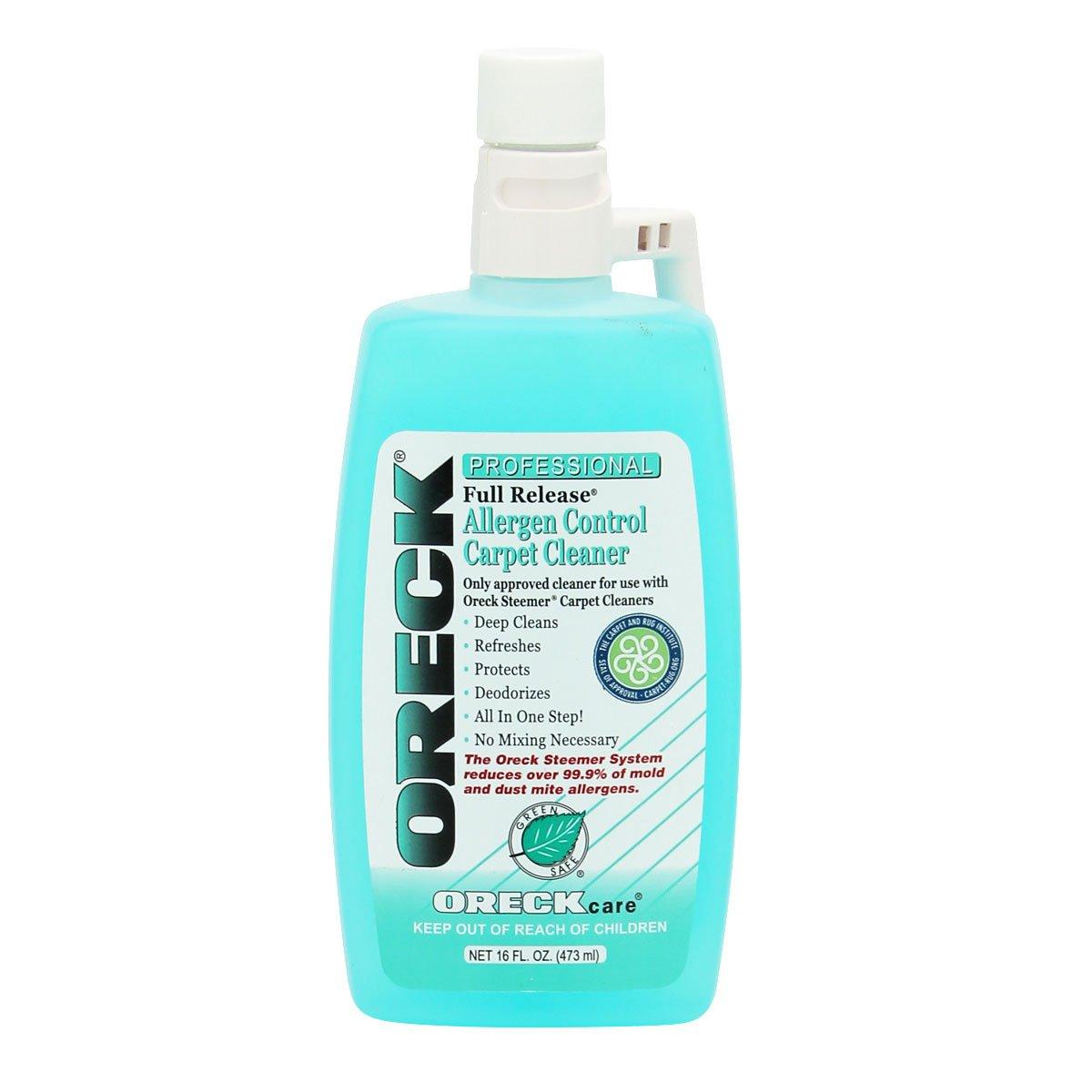 Oreck Full Release Allergen Control Carpet Cleaner
