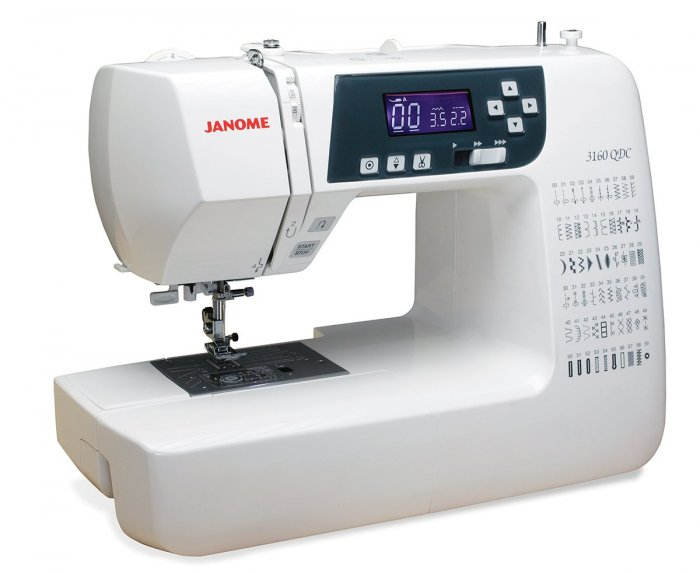 Janome 3160QDC Sewing and Quilting Machine