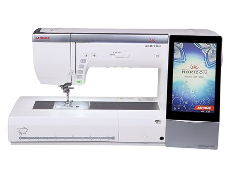 JANOME MEMORY CRAFT 15000 SEWING, QUILTING, & EMBROIDERY