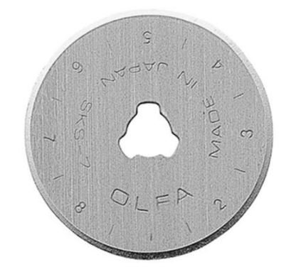 Olfa Replacement Rotary Blade 28mm 2pk