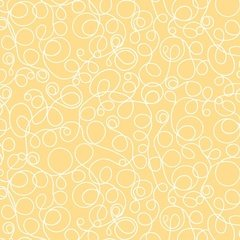 ADORNit, Lined Squiggles, Yellow