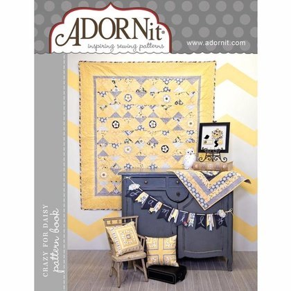 Pattern Book, ADORNit, Crazy for Daisy