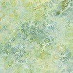 Batik, Wilmington, Light Green Flower Field