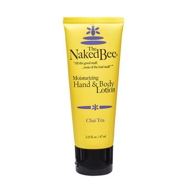 The Naked Bee, Hand & Body Lotion, Chai Tea, 2.25 oz