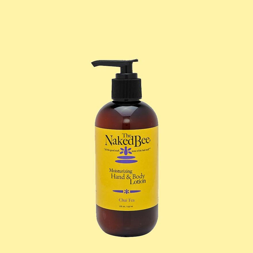The Naked Bee, Hand & Body Lotion, Chai Tea, 8 oz