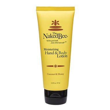 The Naked Bee, Hand & Body Lotion, Coconut & Honey