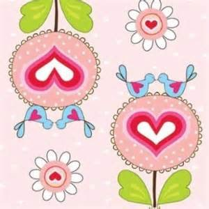 ADORNit, Happy Hearts, Love Birds, Pink