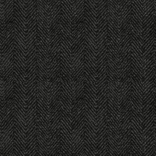 Maywood, Woolies Flannel, Herringbone, Grey Black