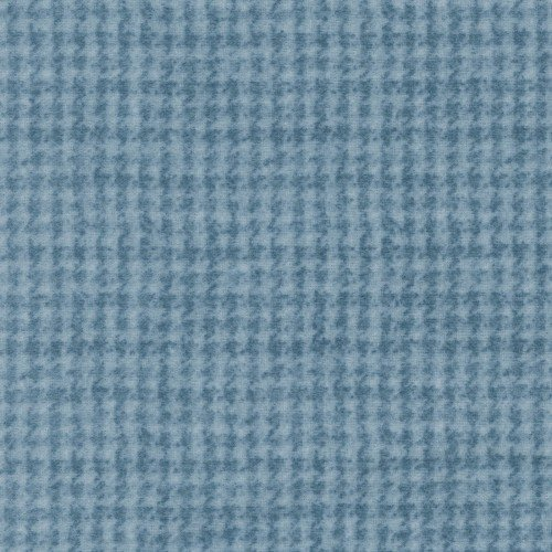 Maywood, Woolies Flannel, Houndstooth, Light Blue