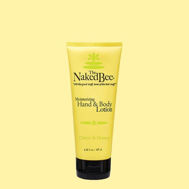 The Naked Bee, Hand & Body Lotion, Citron & Honey