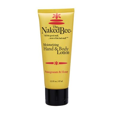 The Naked Bee, Hand & Body Lotion, Pomegranate & Honey