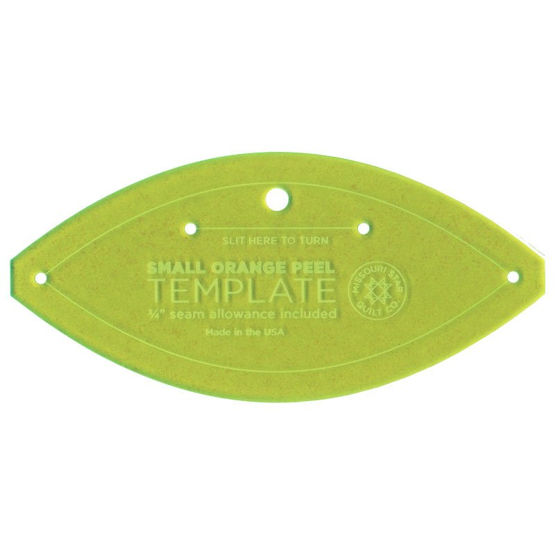 MSQC, Template, Small Orange Peel