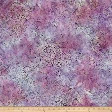 Batik, Wilmington, Light Pink/purple Flower Field