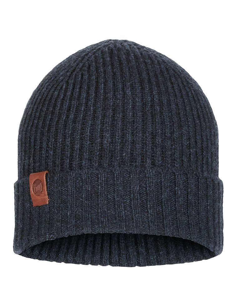 Buff Knitted Biorn Hat