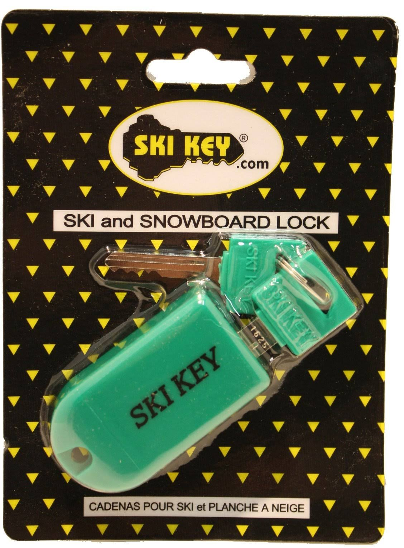 Ski Key Ski and Snowboard Lock