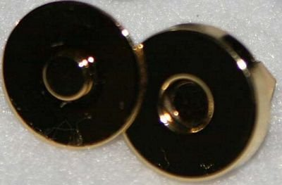 Magnetic Snap-Ant Gold 1/2''