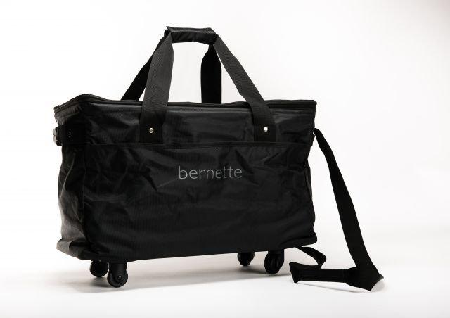 Bernette Machine Bag Black