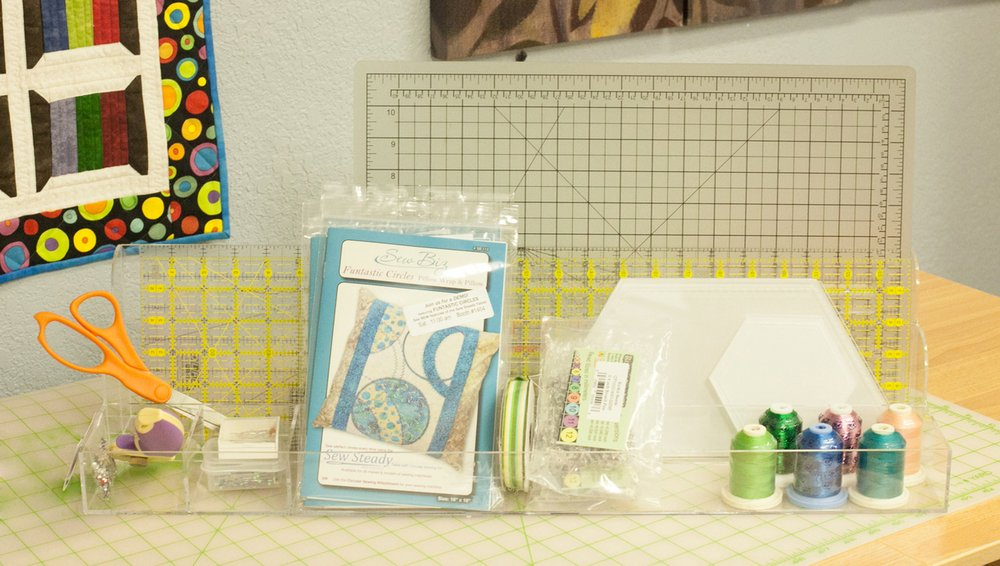 Ruler & Notions Organizer
