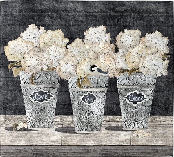 Blooms of Inspiration ~ Vintage Buckets Kit