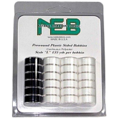 NEB Prewound Bobbins- 24ct L Style