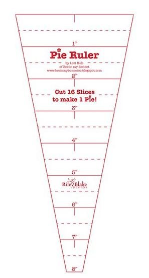 Pie Ruler from Lori Holt