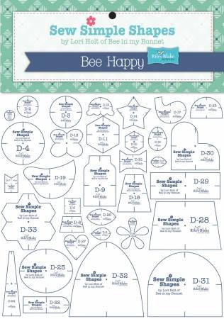 Lori Holt Bee Happy Template set 33 pc