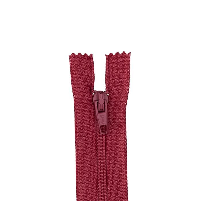 Zipper - 12 All Purpose - Raspberry
