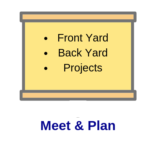 Planning projects slide