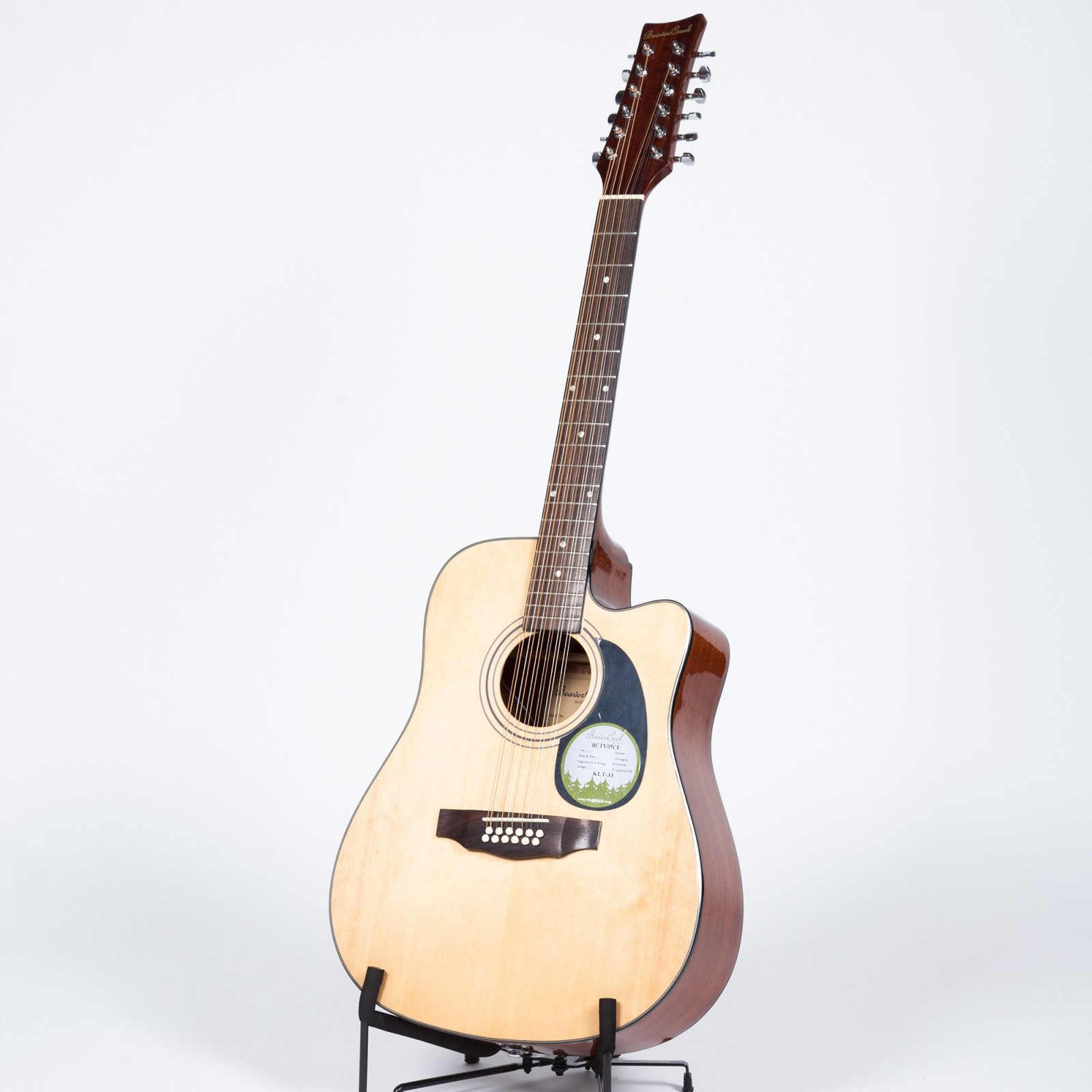BEAVER CREEK 12 String Dreadnought Acoustic/Electric