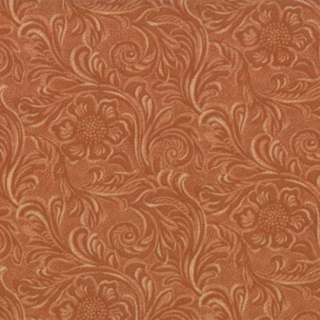 Tooled Leather-Buckskin 11216/14