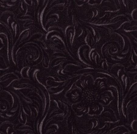 Tooled Leather-Black 11216/16
