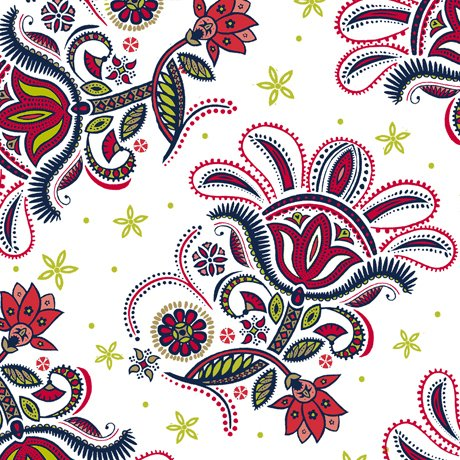 Ceylon-Paisley Floral