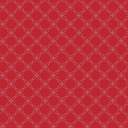 Kimberbell- Red Lattice