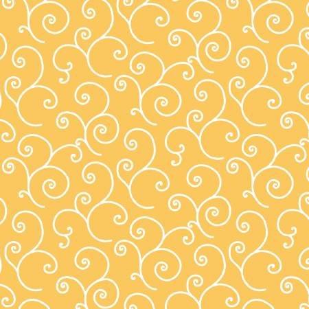 Kimberbell- Yellow Scroll