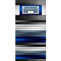 Ombre Washart-Blue Steel 40
