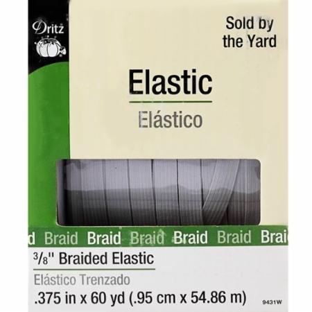 Braided Elastic 3/8