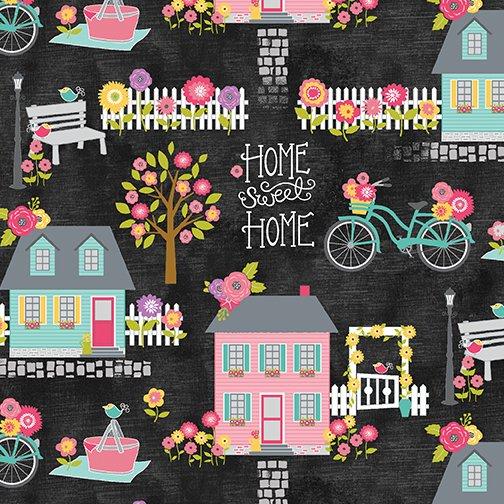 AT HOME ALLOVER SLATE/MULTI