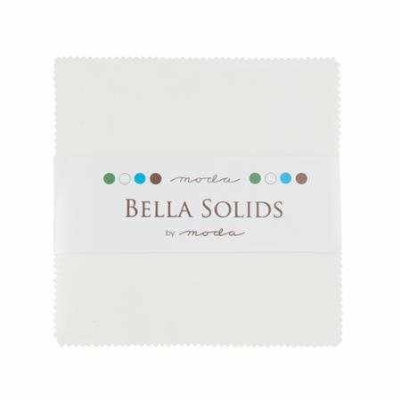 Charm Pack-Bella Solid White 9900PP/98