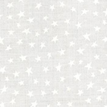 Moda Muslin Mates-Stars White 9921/11