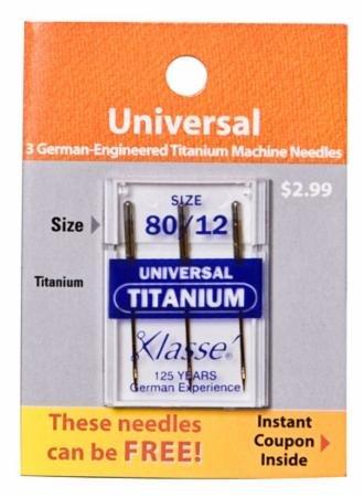 Titanium Universal Needle 75/11-Klausse