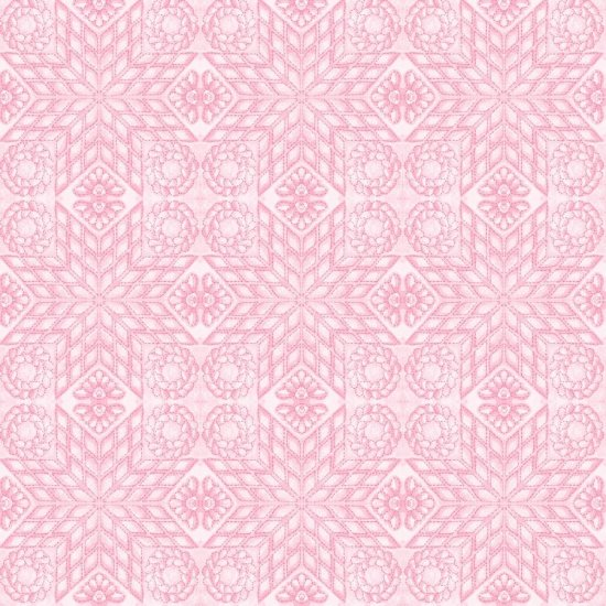 Any Body Can Sew-Pink Quilt Pattern