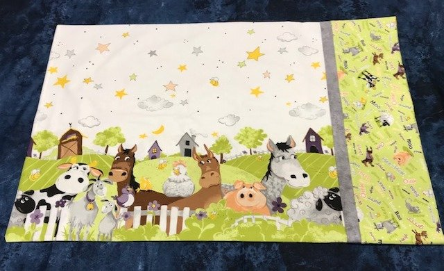 Pillowcase Kit-Barnyard