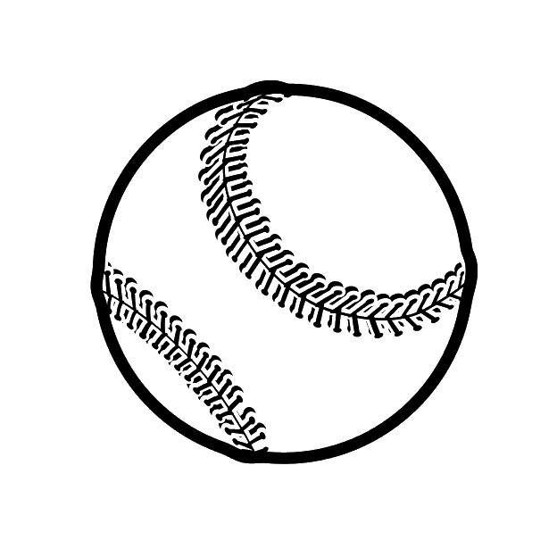 Fabric Medallion-Baseball