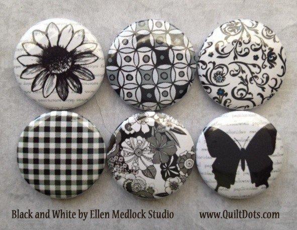 Black & White Pins