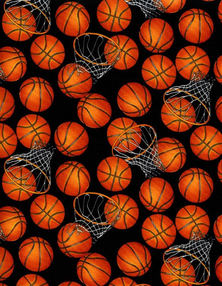 Basketballs and hoops C5814